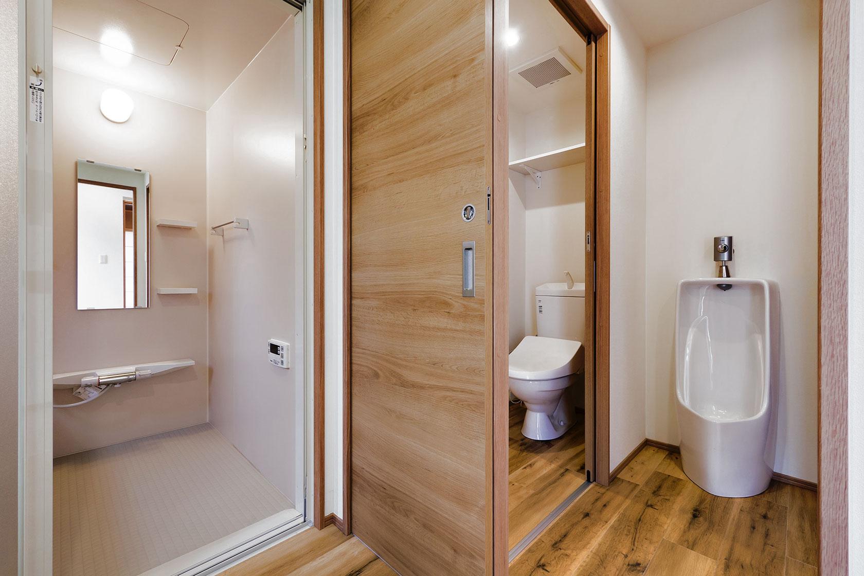 オーナー室をバリアフリー仕様にした鉄筋コンクリート造の自宅併用マンション – 室田ビル
