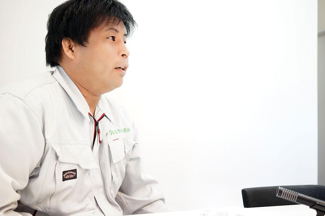 【環境事業部・主任】上米良 圭一 – 「やりたいことができる会社」。そう思っていただけると嬉しいです。