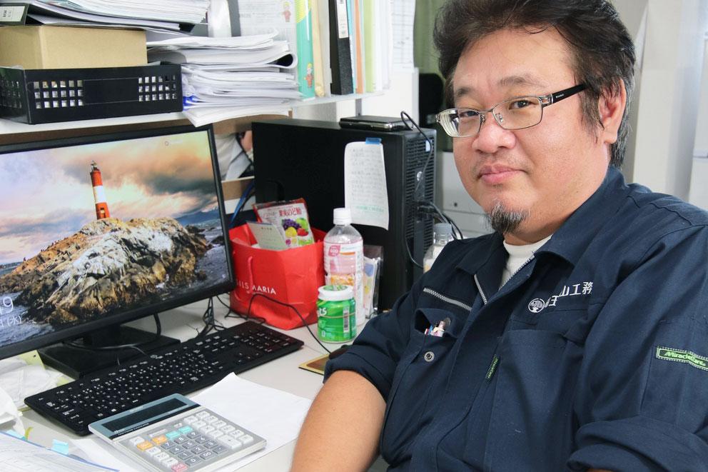 【環境事業部・課長】鈴木 尚雄 – 未経験? そんなの気にする必要ないですよ。