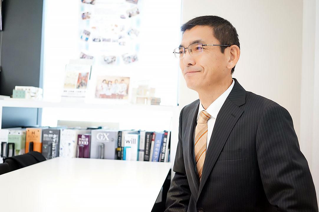 【事業企画本部・企画開発部 係長】利根川 延夫 – お客様の喜ぶ表情をみんなで分かち合いたい方、一緒に働きましょう!